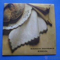 Discos de vinilo: DANZA INVISIBLE BODEGON SINGLE 1991 PDELUXE. Lote 48200801