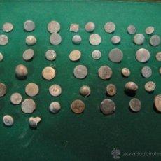 Antigüedades: LOTE DE 51 BOTONES ANTIGUOS. Lote 48201240
