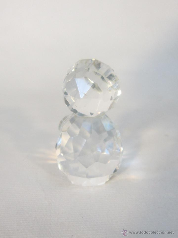 Antigüedades: figura en cristal swarovsky - Foto 3 - 48209218
