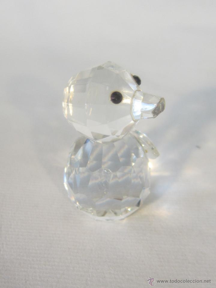 Antigüedades: figura en cristal swarovsky - Foto 4 - 48209218