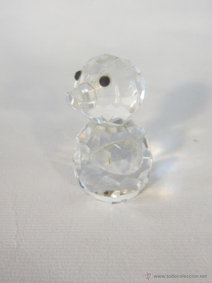 Antigüedades: figura en cristal swarovsky - Foto 6 - 48209218