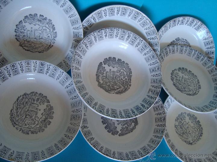 PLATOS PICKMAN LA CARTUJA DE SEVILLA, PLATOS LA CARTUJA PICKMAN (Antigüedades - Porcelanas y Cerámicas - La Cartuja Pickman)