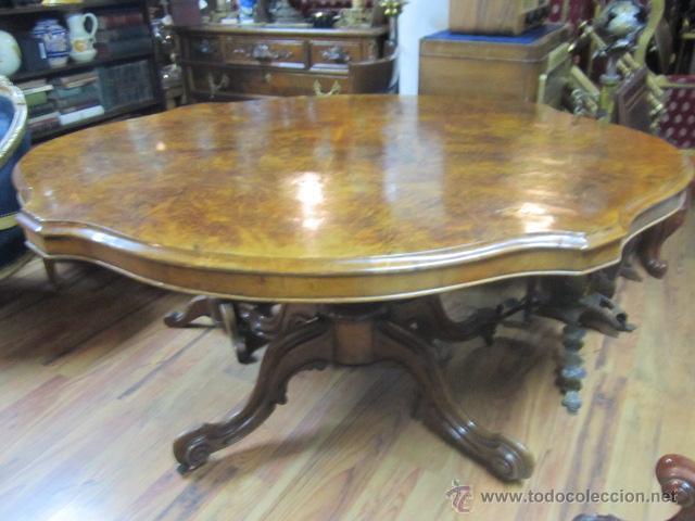 antigua mesa de comedor en madera de raíz. el t - Kaufen Antike ...