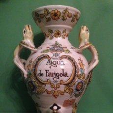 Antigüedades: AGUAMANIL DE LOZA CATALANA - BANYOLES ,AIGUA DE FARIGOLA ( TOMILLO ). Lote 48224838