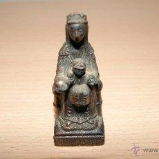 Antigüedades: SANTA MARÍA DE MONTSERRAT ESCULTURA EN BRONCE S. XX. Lote 48225003