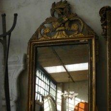 Antigüedades: ESPEJO DORADO SIGLO XIX. Lote 48295134
