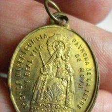 Antigüedades: ESPAÑA BONITA MEDALLA VIRGEN DE LA MISERICORDIA MOYÁ BARCELONA S.XIX OTRAS SIMILARES EN VENTA. Lote 48304748