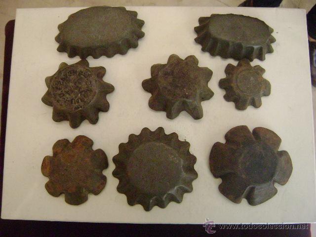 Antigüedades: NOVENTA MOLDES PARA MADALENAS - Foto 3 - 48308118