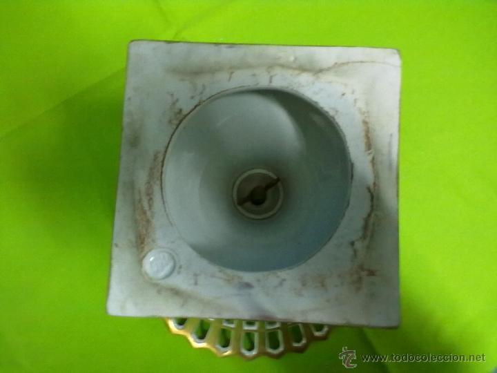 Antigüedades: FRUTERO PORCELANA CENTRO DE MESA IMPERIO - Foto 7 - 48311775
