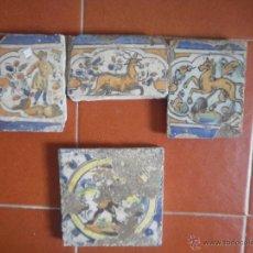 Antigüedades: LOTE DE AZULEJOS ANTIGUOS.. Lote 48314321