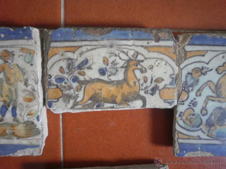 Antigüedades: Lote de azulejos antiguos. - Foto 2 - 48314321