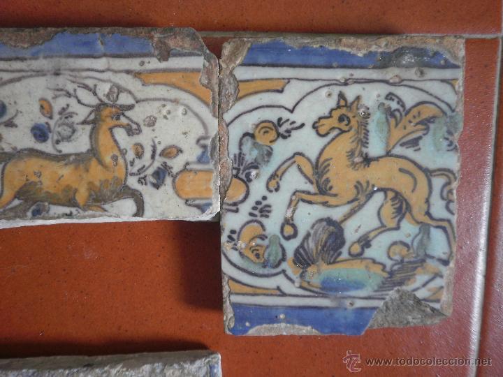 Antigüedades: Lote de azulejos antiguos. - Foto 3 - 48314321