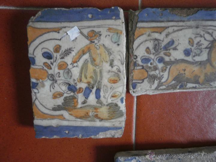 Antigüedades: Lote de azulejos antiguos. - Foto 4 - 48314321