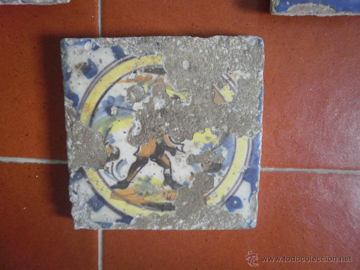 Antigüedades: Lote de azulejos antiguos. - Foto 5 - 48314321
