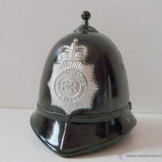 Antigüedades: CAMPANA INGLESA EN FORMA DE CASCO POLICIA METROPOLITANA. Lote 48325124