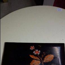 Antigüedades: JOYERO LACADO CON MÚSICA Y FUNCIONANDO. Lote 48325773