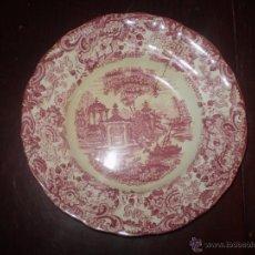 Antigüedades: PLATO HONDO DE PICKMAN. Lote 48340810