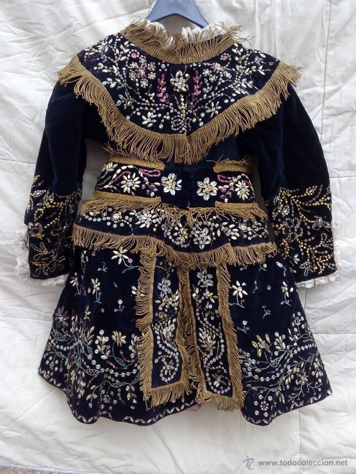 VESTIDO ANTIGUO DE CHARRA (Antigüedades - Moda y Complementos - Infantil)