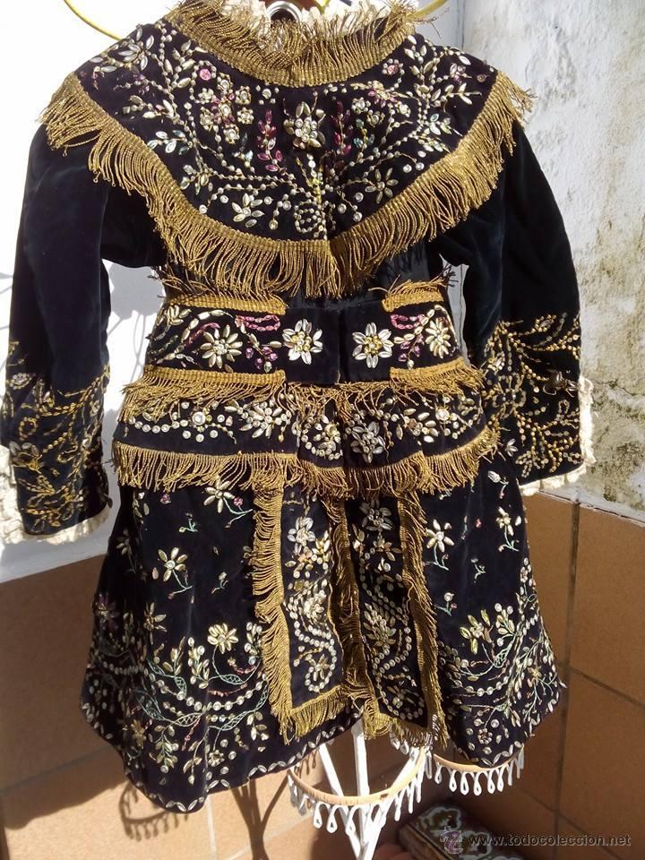 Antigüedades: Vestido antiguo de charra - Foto 2 - 47468140