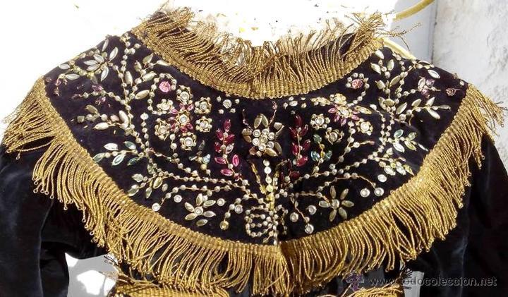 Antigüedades: Vestido antiguo de charra - Foto 5 - 47468140