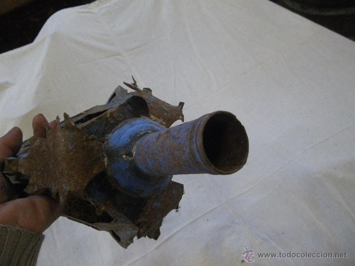 Antigüedades: ANTIGUO FAROL DE IGLESIA O PROCESION , MUY BONITO Y RARO .IDEAL RESTAURADORES - Foto 5 - 48361392