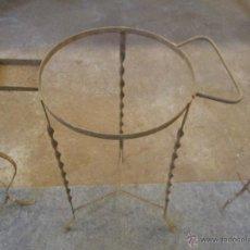 Antigüedades: ANTIGUO LAVABO EN FORJA ,, IDEAL RESTAURADORES. Lote 76156898