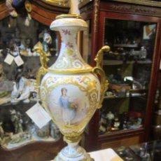 Antigüedades: ANTIGUO JARRÓN DE SEVRES CON DOS ASAS. AÑO 1772. ALTURA: 50 CMS.. Lote 48371166