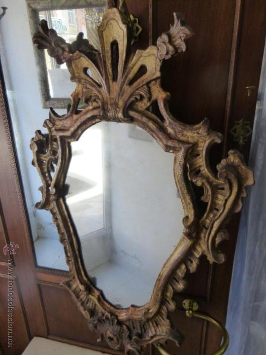 Antiguo y original espejo cornucopia siglo xvi comprar - Muebles epoca salamanca ...