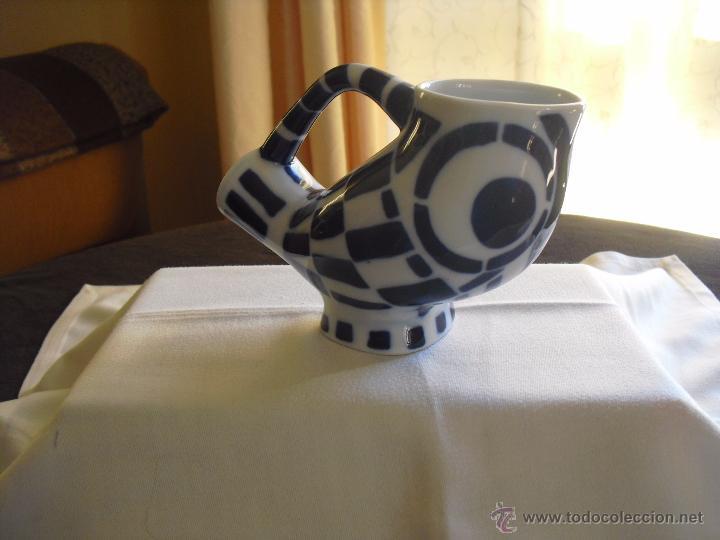 FIGURA SARGADELOS JARRA BUHO (Antigüedades - Porcelanas y Cerámicas - Sargadelos)