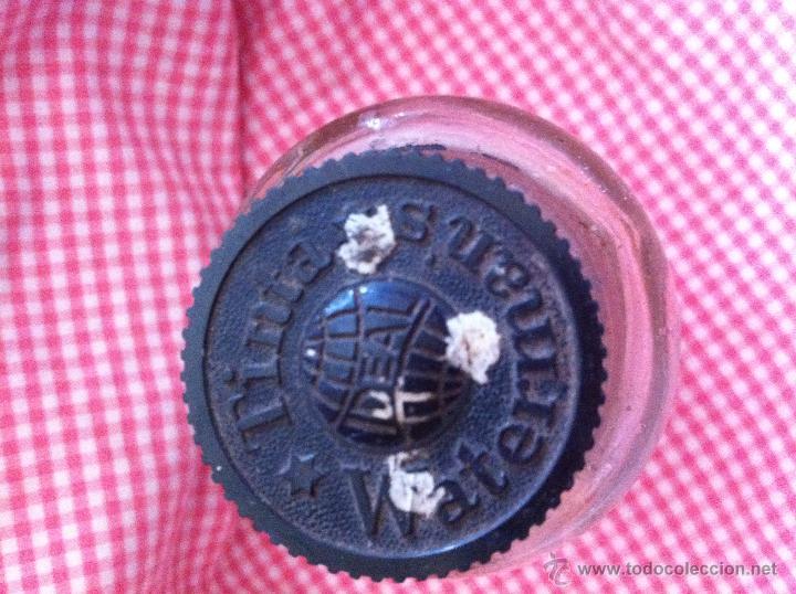 Antigüedades: Antiguo frasco de tinta china de Watermans Ideal - Foto 2 - 48382340