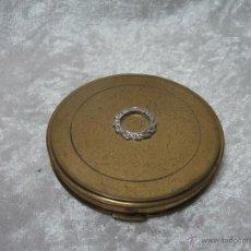 Antigüedades: ANTIGUA POLVERA DE MAQUILLAJE CON ESPEJO. Lote 48384091