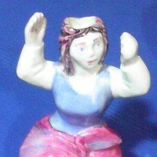 Antigüedades: FIGURA DE GALLEGA. CERÁMICA CASTRO. SARGADELOS. . Lote 48387360