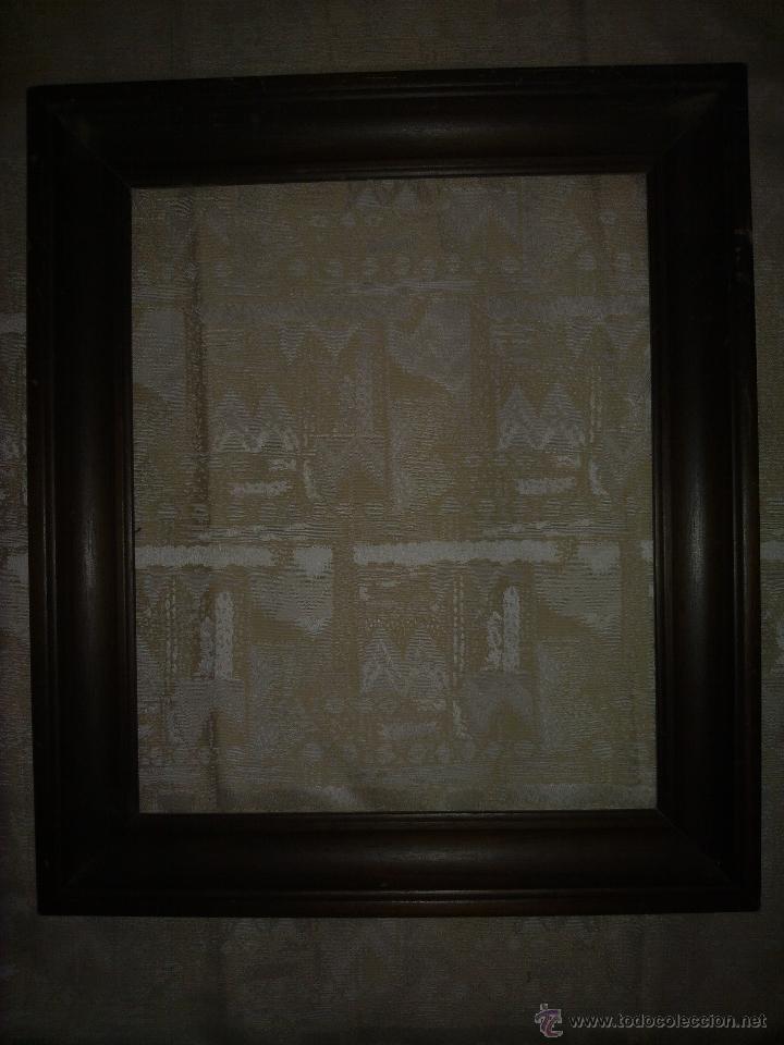 vendo marco antiguo de madera en color caoba, ( - Comprar Marcos ...