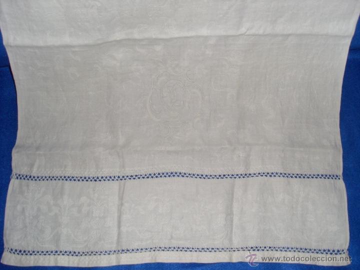 Antigüedades: Mantel de altar - Foto 2 - 48413635
