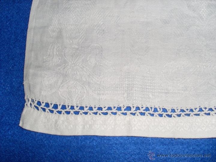 Antigüedades: Mantel de altar - Foto 3 - 48413635