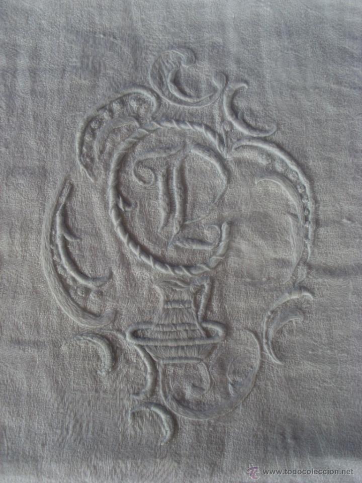 Antigüedades: Mantel de altar - Foto 12 - 48413635
