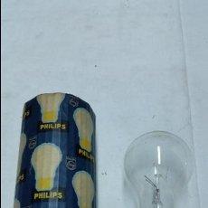 Antigüedades: BOMBILLA O LAMPARA PHILIPS ANTIGUA,DE BAYONETA,AÑOS 40-50 APROX. Lote 48420345