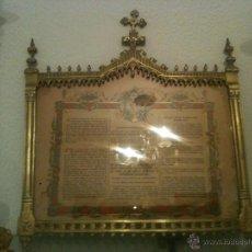 Antigüedades: SACRA RELIGIOSA. Lote 48454499