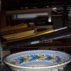 Antigüedades: CUENCO CERÁMICA ANTIGUA PUENTE DEL ARZOBISPO. Lote 48457821
