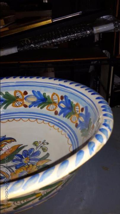 Antigüedades: CUENCO CERÁMICA ANTIGUA PUENTE DEL ARZOBISPO - Foto 2 - 48457821