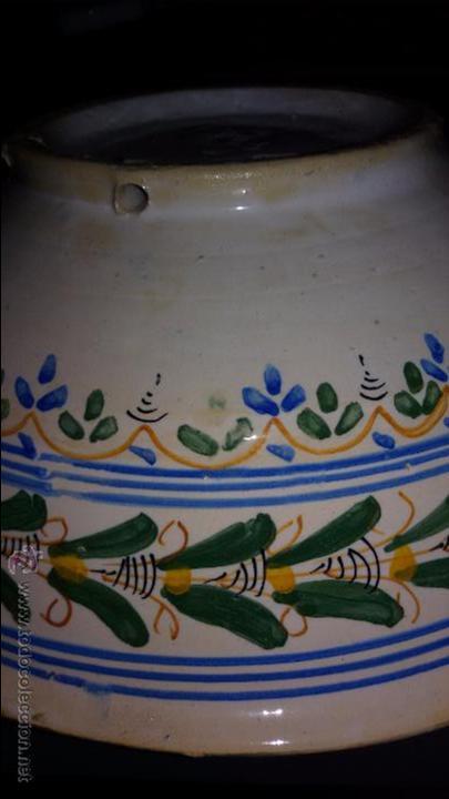 Antigüedades: CUENCO CERÁMICA ANTIGUA PUENTE DEL ARZOBISPO - Foto 4 - 48457821