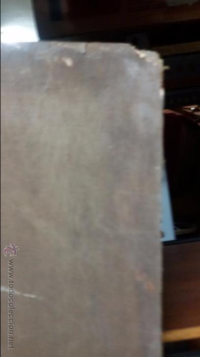 Antigüedades: VIRGEN EN VIEJO LIENZO PEGADO A TABLA - Foto 9 - 48472390