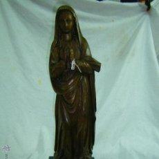 Antigüedades: TALLA EN MADERA-PIEZA UNICA. Lote 48473095