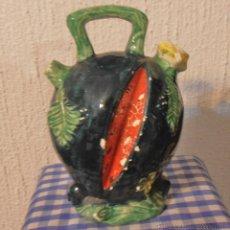 Antigüedades: BOTIJO CON FORMA DE SANDIA. Lote 48486146