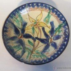 Antigüedades: PLATO FIRMADO GABI. Lote 48488826