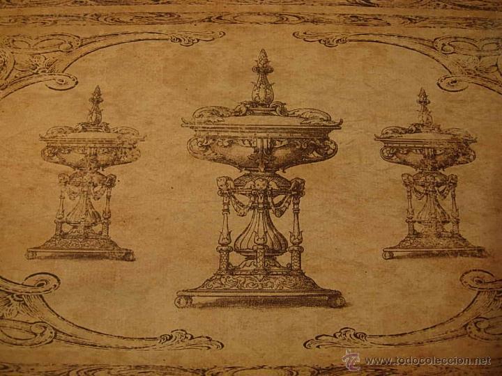 Antigüedades: DECORATIVAS BANDEJAS SON TRES DE DIFERENTES TAMAÑOS. Bandeja. - Foto 5 - 48499130