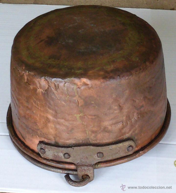 Antigüedades: MUY PEQUEÑO CALDERO MIDE DIAMETRO 21 CM ALTO 13 CM GASTOS ENVÍO CERTIFICADO INCLUIDOS EN PENINSULA - Foto 3 - 48521519
