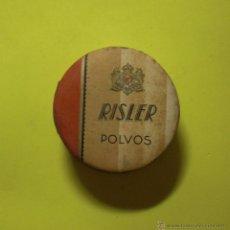 Antigüedades: RISLER ANTIGUA POLVERA LLENA PRECINTO PERFUMERIAS PAREDA S.A.. Lote 48524909