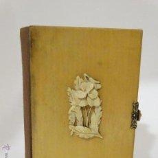 Antigüedades: LIBRO DE OFICIO DIVINO 1872 RAMO MARFIL Y GRABADOS. Lote 48514110