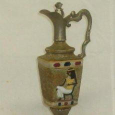 Antigüedades: JARRÓN CON DECORACIÓN EGIPCIA.. Lote 48525330